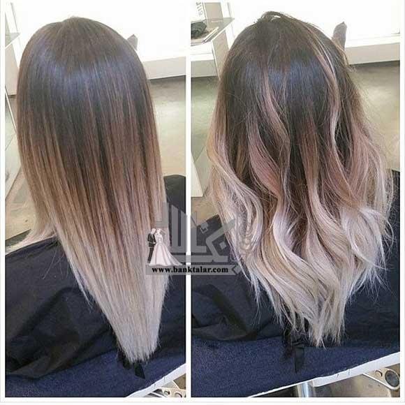 رنگ مو و هایلایت سال 2018