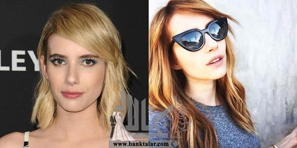تغییر رنگ مو و مدل مو و تاثیر آن در چهره بازیگران