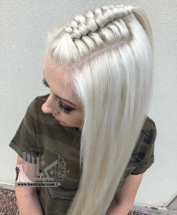 مدل بافت موی آلمانی روی سر
