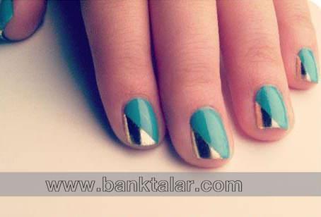 **banktalar.com طرح های ساده و شیک طراحی ناخن