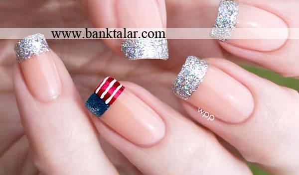 طراحی های ناخن بسیار ساده و زیبا 2013**banktalar.com