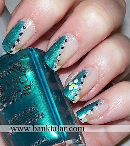 طراحی های جدید فرنچ ناخن 2013**banktalar.com