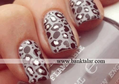 ناخن های زیبا با طرح های ساده و شیک**banktalar.com