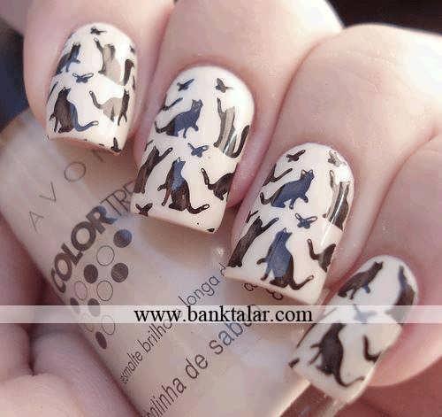 زیباترین مدل و طراحی ناخن ها**banktalar.com