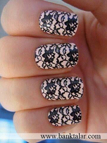 ناخن های زیباتر با طرح هایی ساده و شیک*banktalar.com