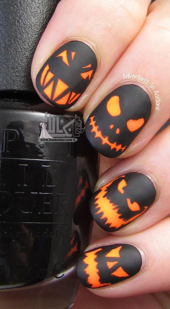 مدل ناخن ویژه هالووین