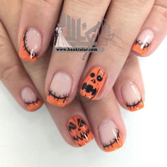 طراحی ناخن هالووین و جالب 2018
