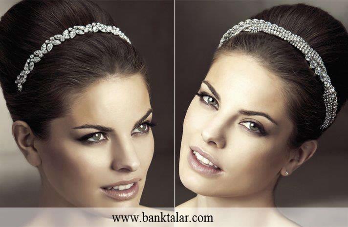 چگونه تاج عروسی مناسب با مدل لباس و موهایمان انتخاب نماییم؟_سری دوم**banktalar.com