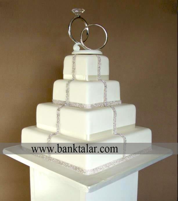 دانستنیهای مهم و جالب درباره ی کیک عروسی و نامزدی **banktalar.com