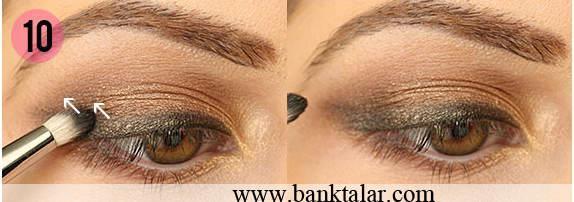آموزش مرحله به مرحله آرایش چشم اروپایی**banktalar.com