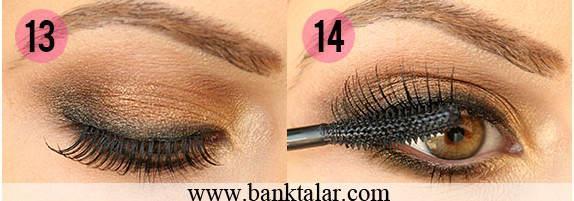آموزش تصویری آرایش چشم زنانه برای میتدی ها
