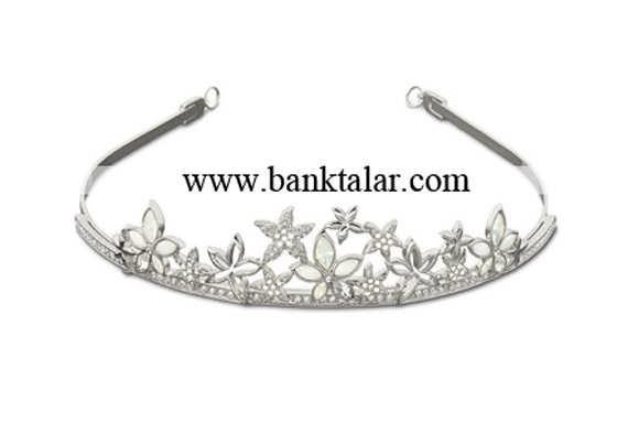 مدل های تاج عروسی جدید و تک **banktalar.com