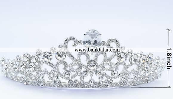 مدل تاج عروس 2014 فوق العاده شیک و زیبا**banktalar.com
