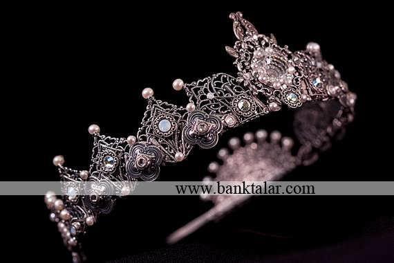 جدیدترین تاج های نامزدی و عروسی ساده و زیبا 2014**banktalar.com