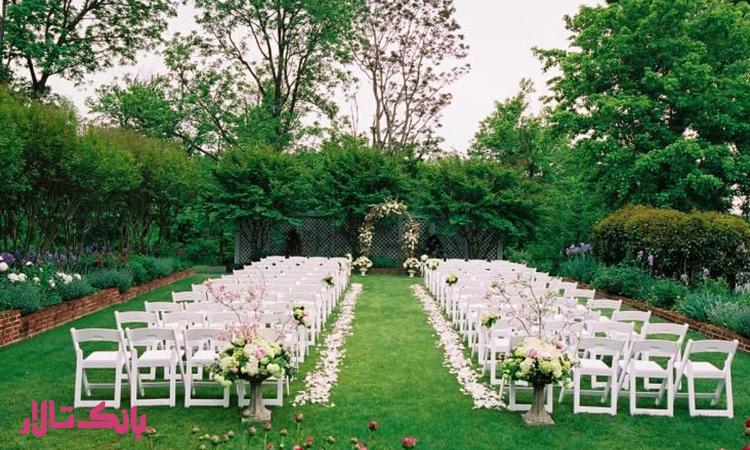 انتخاب مجلل ترین باغ کوچ برای عروسی