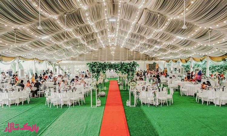 همه چیز درباره نحوه برگزاری حشن عروسی در باغ
