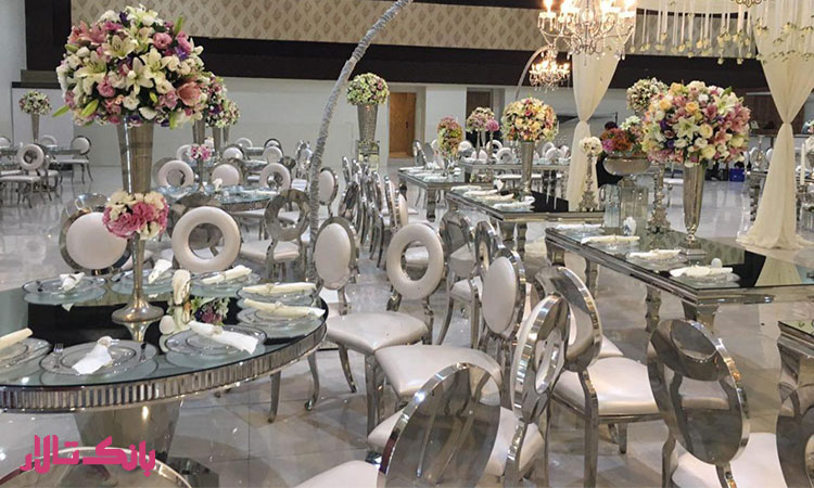خدمات تشریفات عروسی جلالی