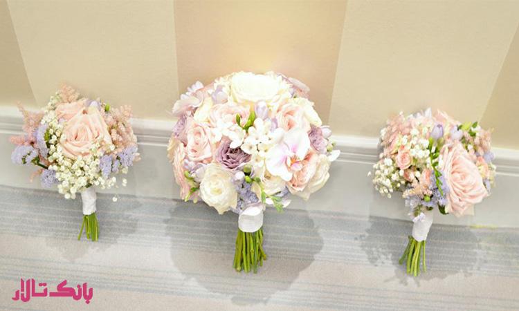انتخاب مناسب ترین دسته گل عروس