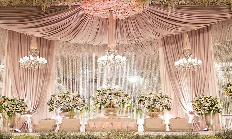 تالار عروسی در بهار