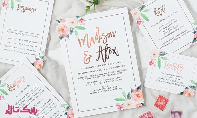 مراسم نوشته ها یماندگار توسط میهمان های جشن عروسی