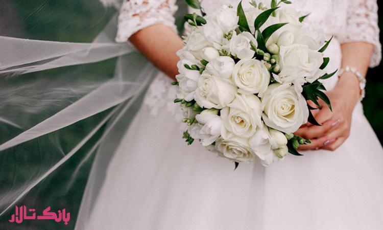 هزینه دسته گل عروسی