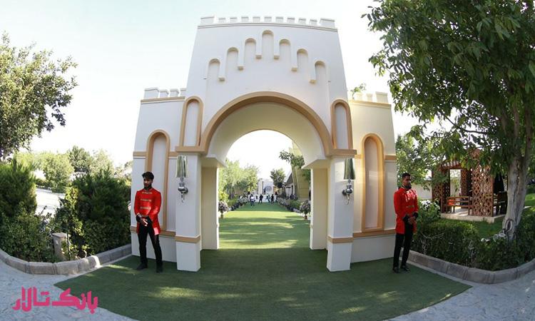 انتخاب بهترین باغ تالار عروسی