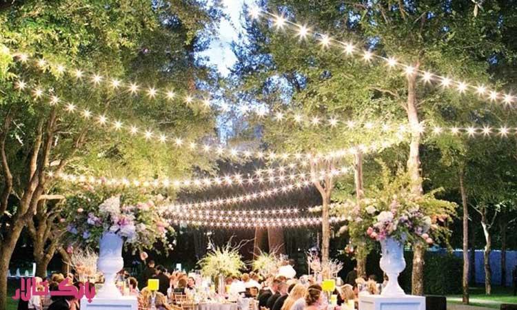 انتخاب تم های مناسب فصل برای مجالس عروسی
