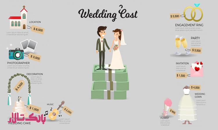 مدیریت کردن کارهای مربوط به جشن عروسی