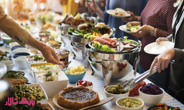 انتخاب غذای مناسب برای عروسی