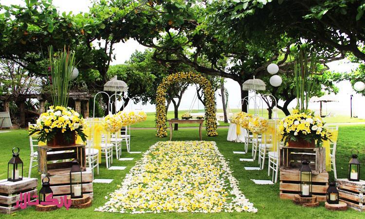 جشن عروسی پاییزی