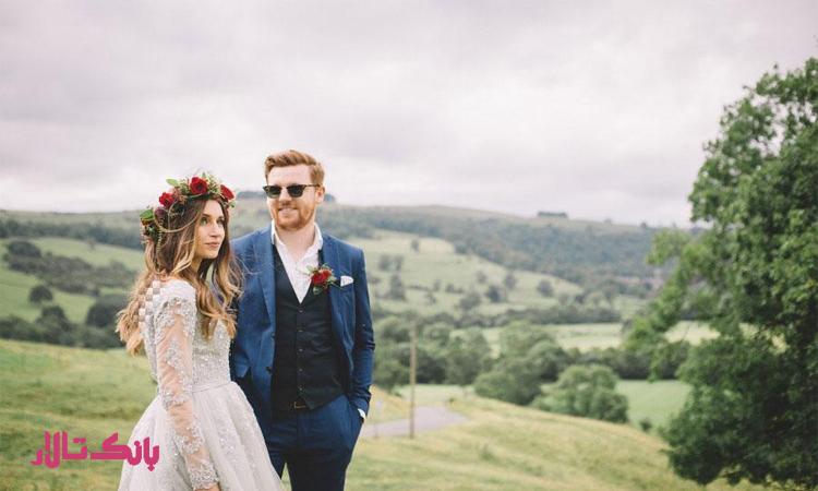 بهترین و مناسب ترین لباس عروسی برای پاییز
