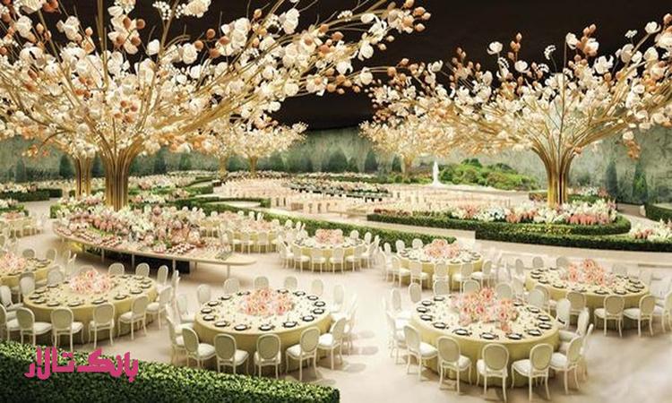 انتخاب بهترین تالار مجلل عروسی در تهران