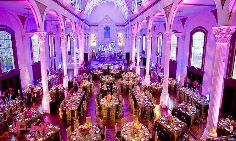 تالار عروسی مجلل در تهران