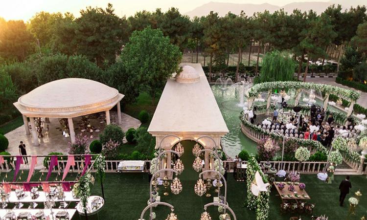 لاکچری ترین تالار عروسی