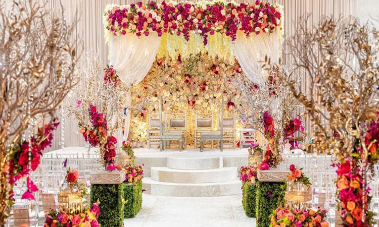 گل آرایی تالار عروسی