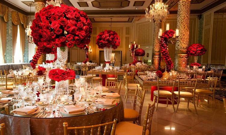 نکات مهم در طراحی تالار عروسی
