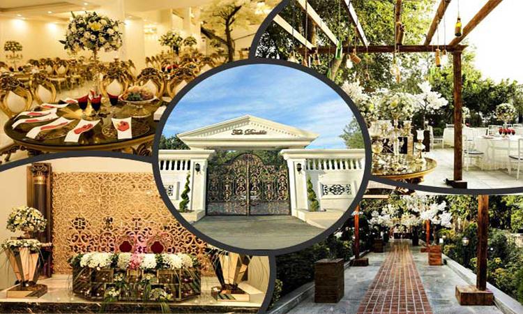 برترین باغ تالار تهران