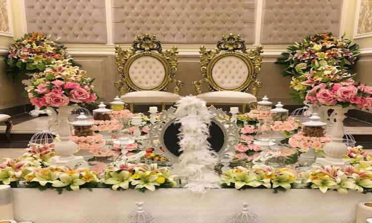 لاکچری ترین تالار عروسی منطقه 8 تهران