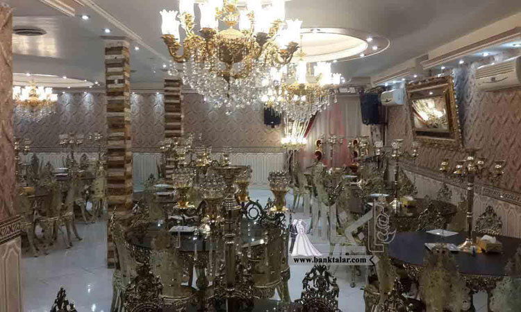 مجلل ترین تالاهای عروسی در تهران