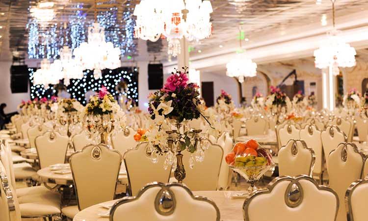 انتخاب بهترین تالار عروسی در منطقه 22 تهران