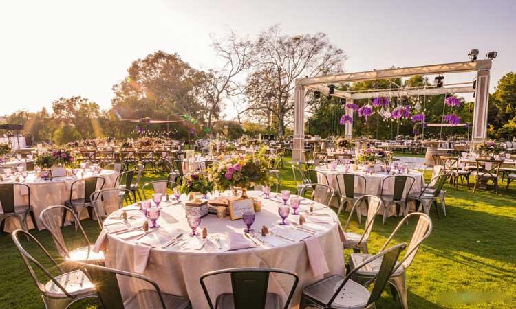 مجلل ترین باغ عروسی