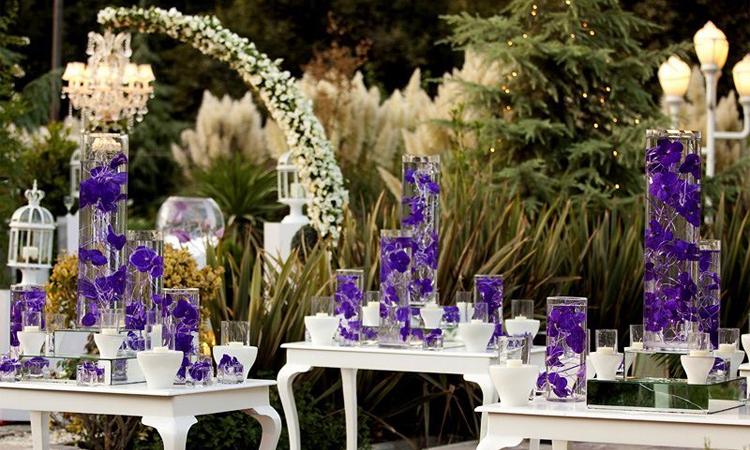 طراحی و دیزاین مسز پذیرایی از سری خدمات تشریفات عروسی