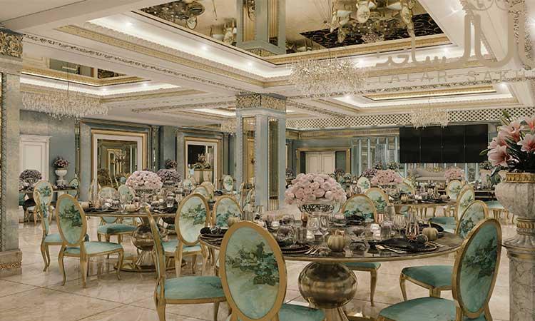 انتخاب رنگ آمیزی مناسب برای تالار عروسی