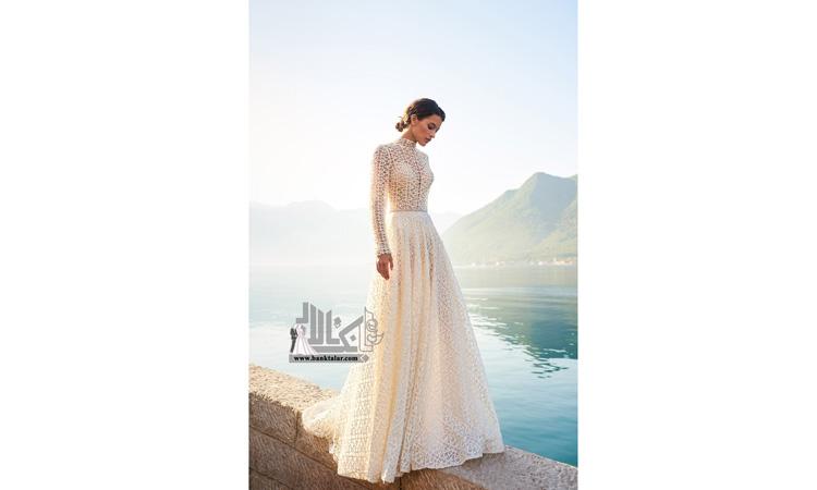 لباس عروس خانم های لاغر اندام