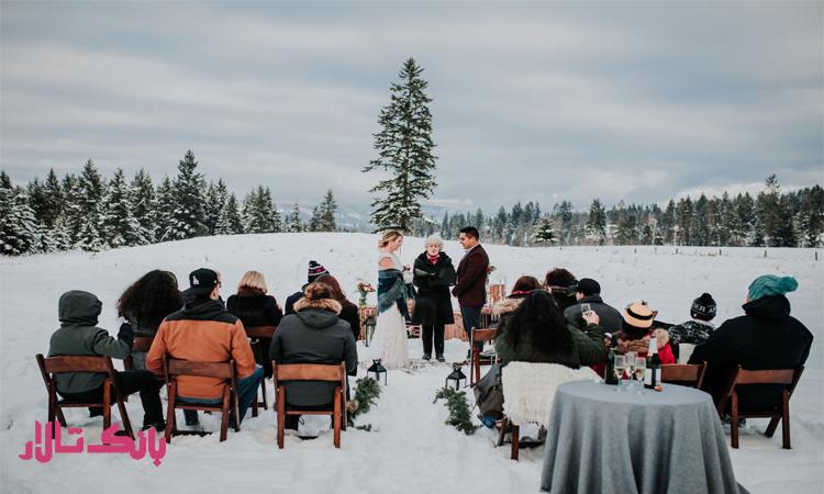 برگزاری جشن عروسی در فصول سرد از راه های کاهش هزینه