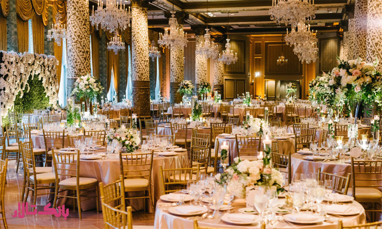 هزینه شیک ترین تالار عروسی در تهران