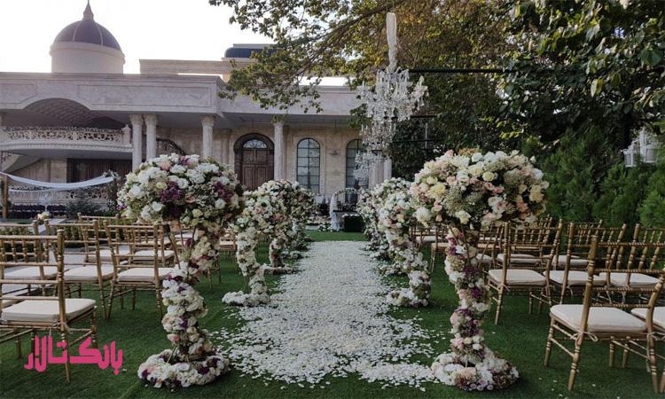 قیمت بهترین تشریفات عروسی در تهران