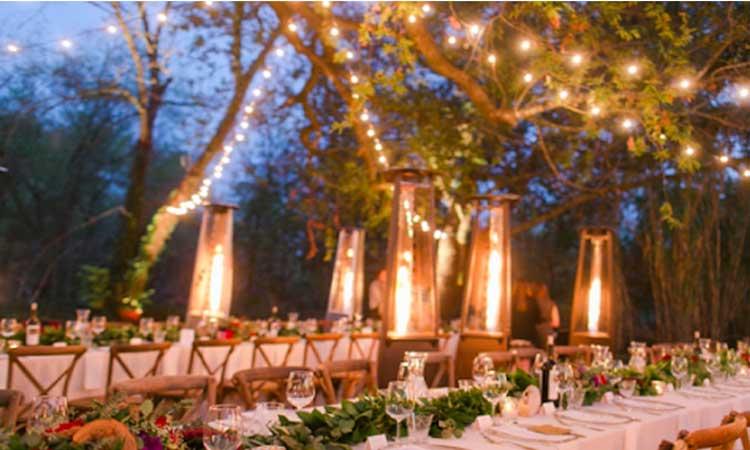 نکات مهم در طراحی باغ عروسی