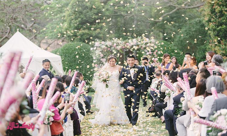 چطور در فضای باز عروسی مجلل برگزار کنیم