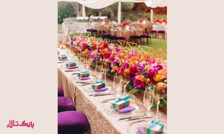 نکات مهم برای تشریفات عروسی در فضای باز
